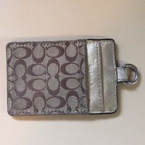 Coach ID Holder small wallet